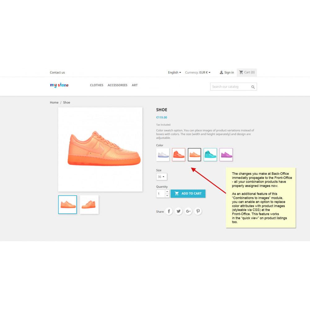 module - Combinaciones y Personalización de productos - Combinaciones de productos con imágenes - 9