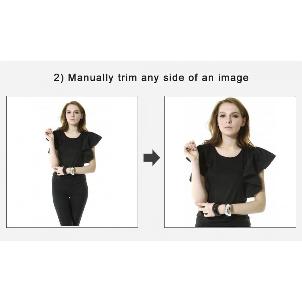 module - Page Customization - Automatic image trimming and cropping - 2