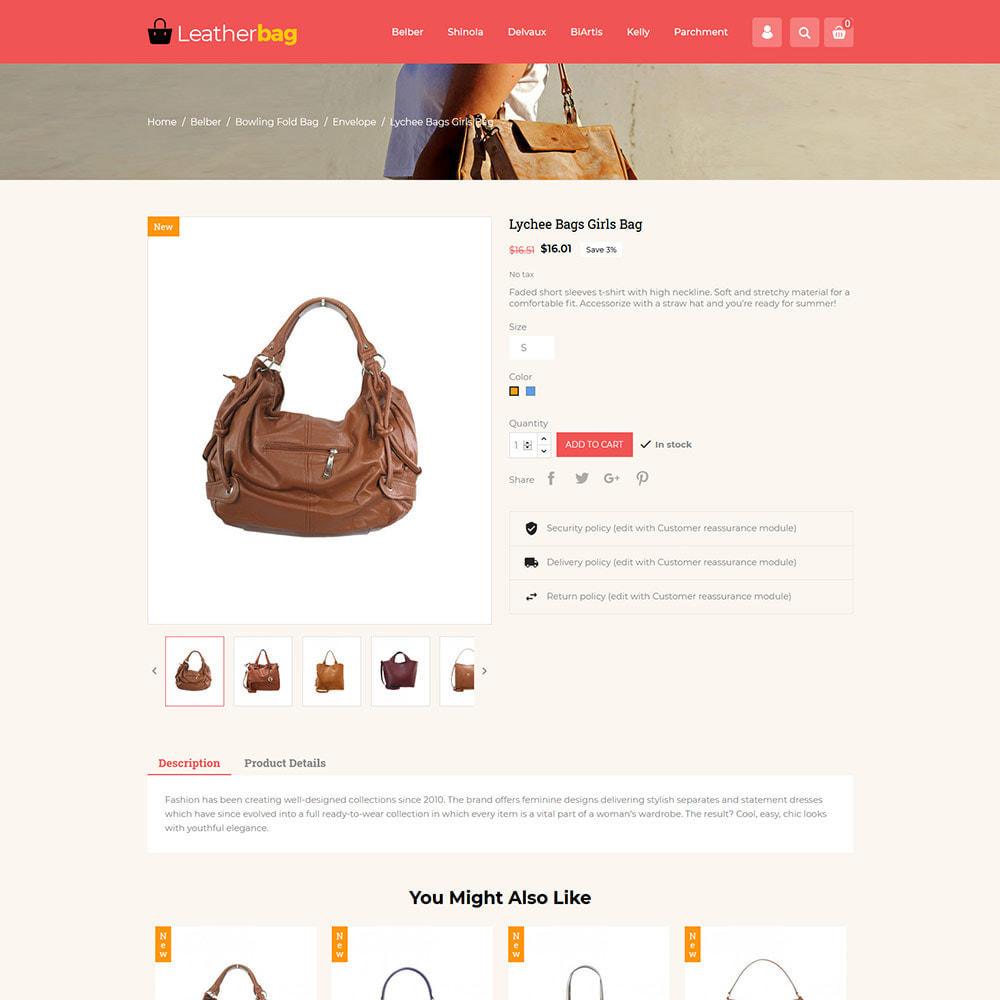 theme - Fashion & Shoes - Handbag Leather - Bag Purses Fashion Store - 5