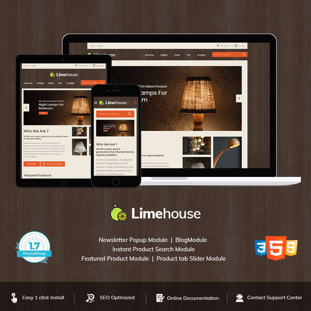theme - Home & Garden - Limehouse Light  -  Led   Bubble Light Lamp Store - 1