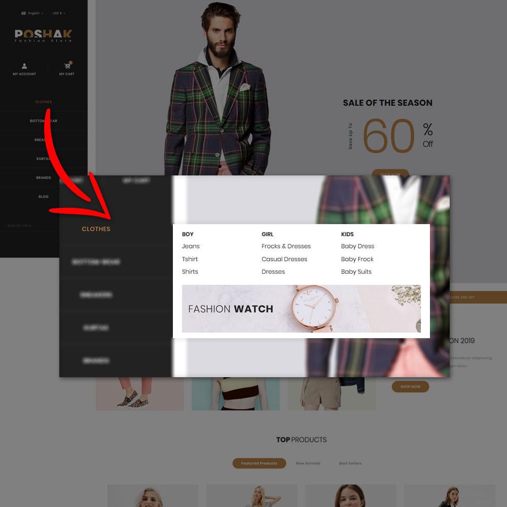 theme - Fashion & Shoes - Poshak - Fashion Shop - 8