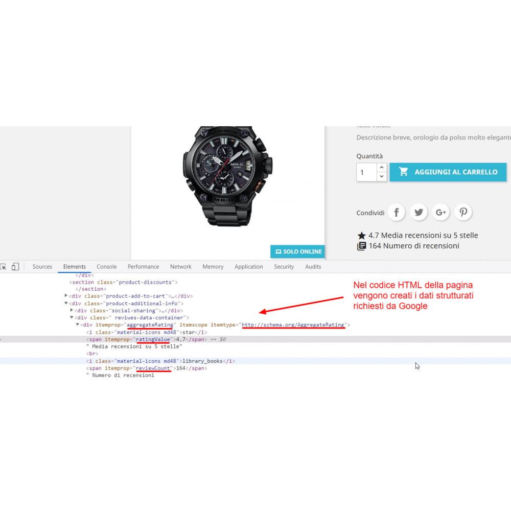 module - Recensioni clienti - Snippet Dati Strutturati Google per Recensioni prodotti - 2