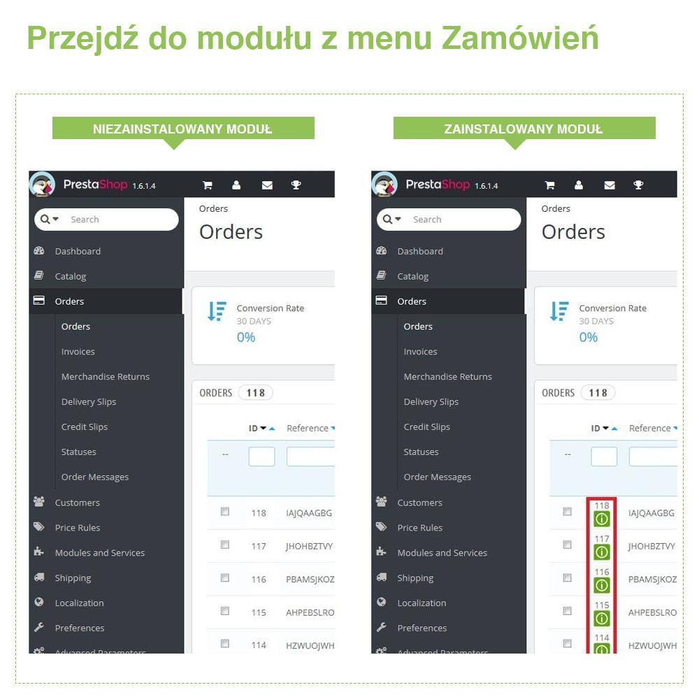 module - Zarządzanie zamówieniami - Fast Access to Order Details: podgląd danych zamówienia - 7