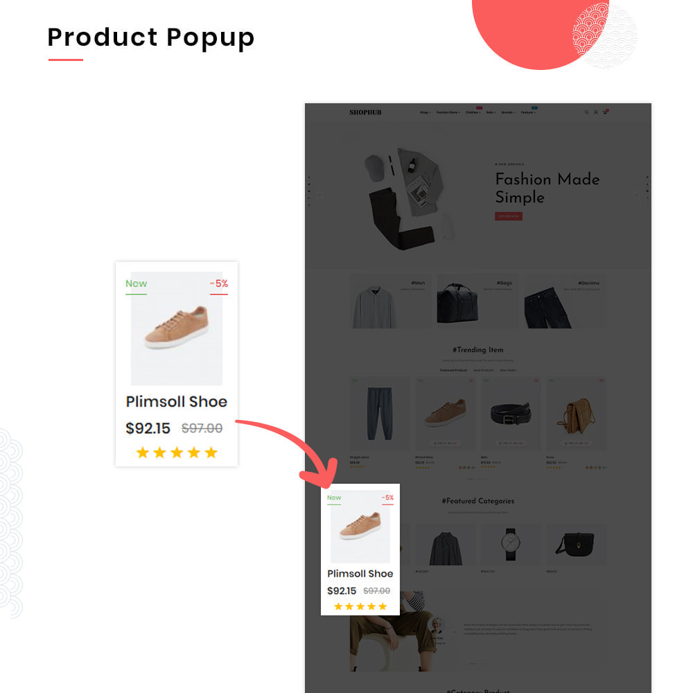 theme - Mode & Schuhe - SHOPHUB Mega Style–Fashion Minimal–Modern Super Store - 10