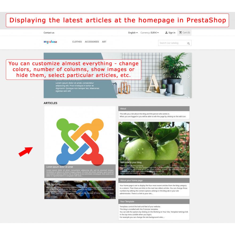 module - Marktplätze - PrestaShop-Joomla! two-way integration - 1