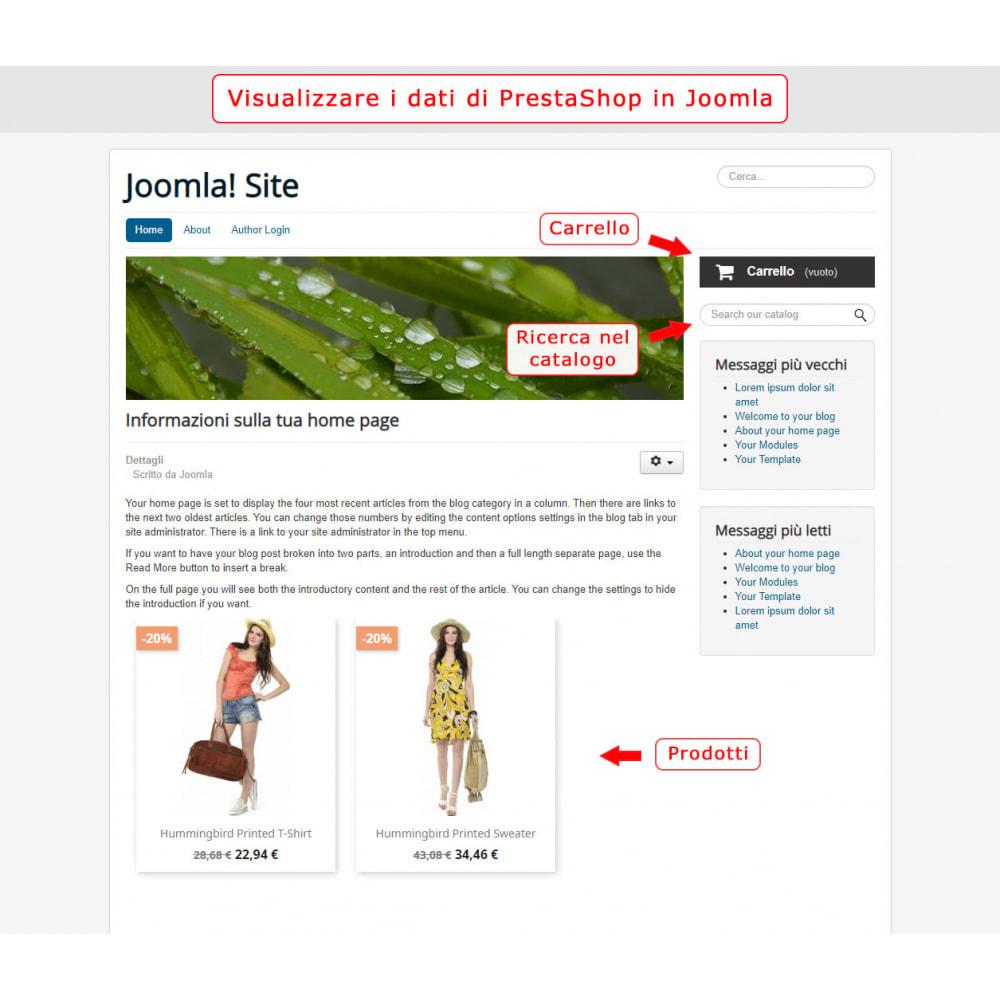 module - Marketplace - Integrazione bilaterale PrestaShop e Joomla! - 6