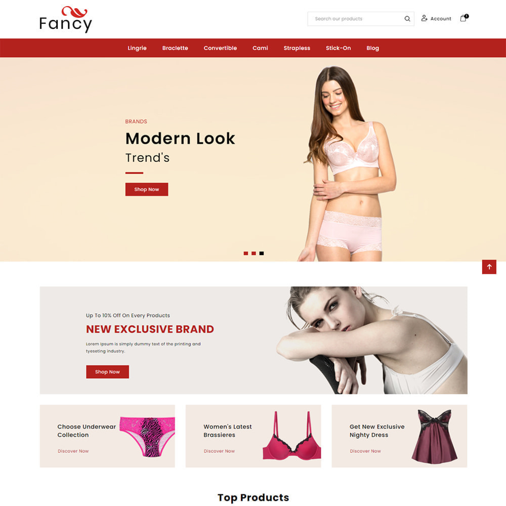 theme - Lingerie & Adult - Fancy Lingerie & Adult - 1