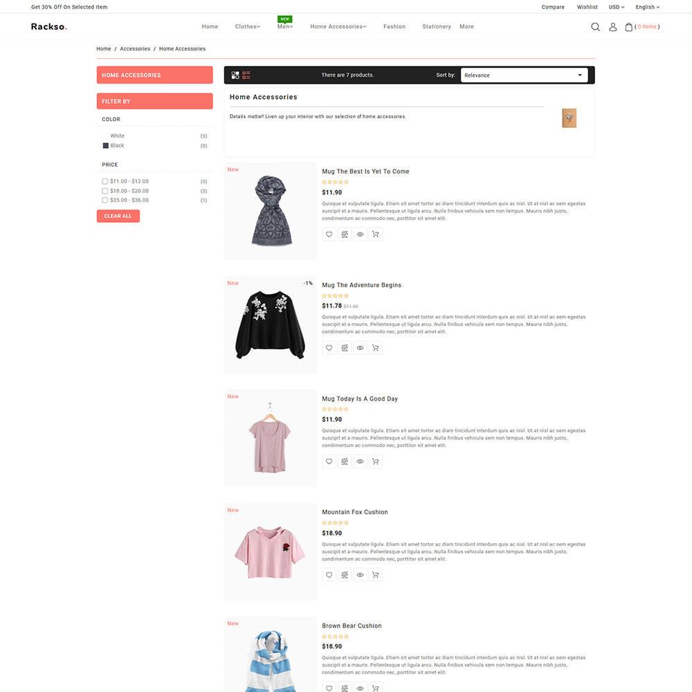 theme - Mode & Schoenen - Rackso - Multipurpose Fashion - 5