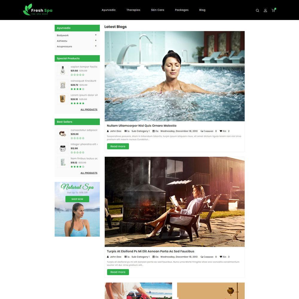 theme - Health & Beauty - Fresh Spa - 5