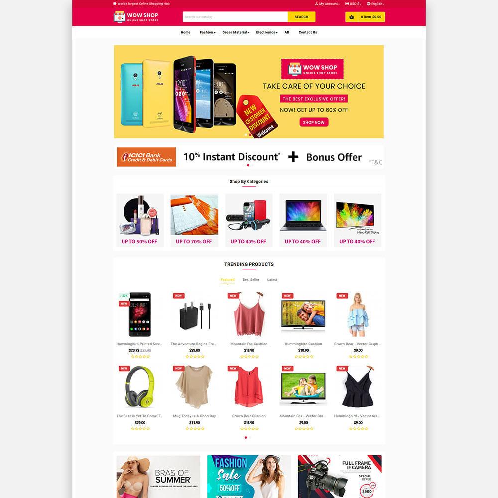theme - Electronics & Computers - WowsShop Super Store (Electronics, Fashion, Mall) - 2