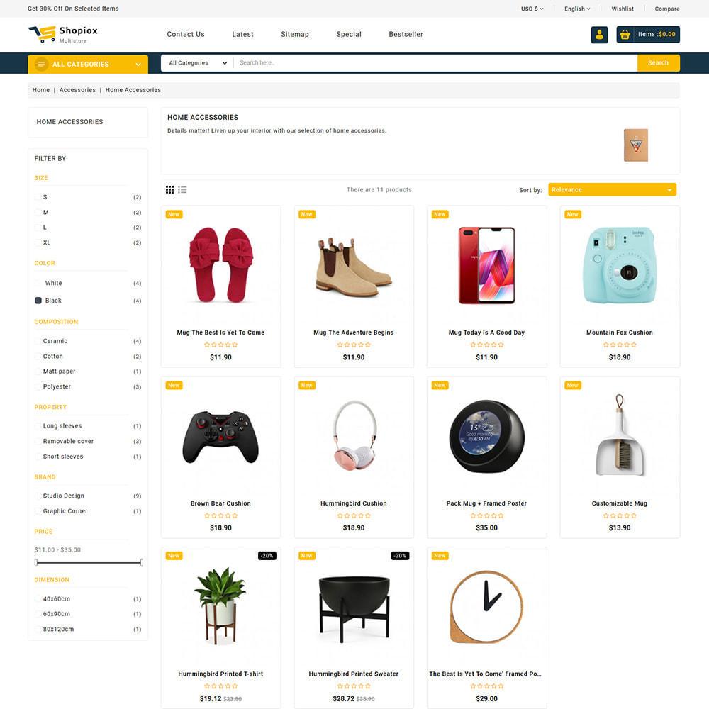 theme - Electronics & Computers - Shopiox - Super Market Multipurpose Store - 4