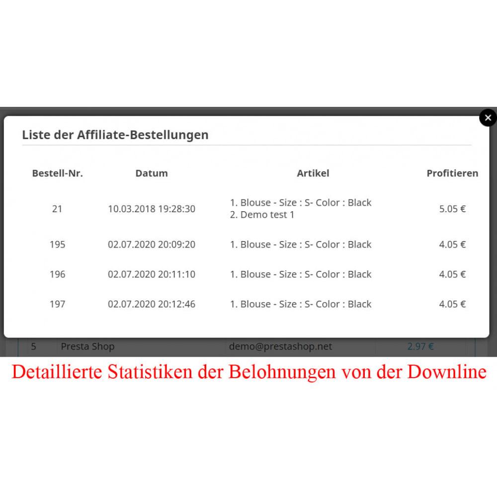 module - SEA SEM (Bezahlte Werbung) & Affiliate Plattformen - Das erweiterte Referenzprogramm RefPRO - 24