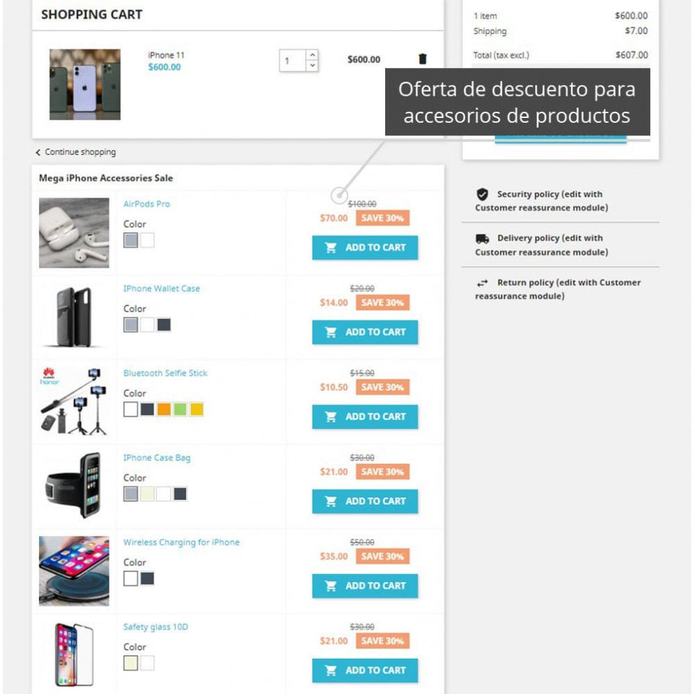 module - Ventas cruzadas y Packs de productos - Cross Selling PRO - 1