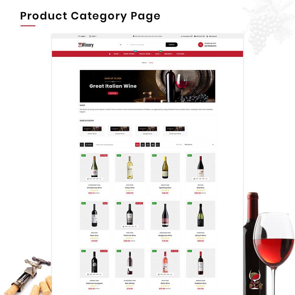 theme - Napoje & Wyroby tytoniowe - Winery Mega France–Wine  Alcohol–Drink Super Store - 4