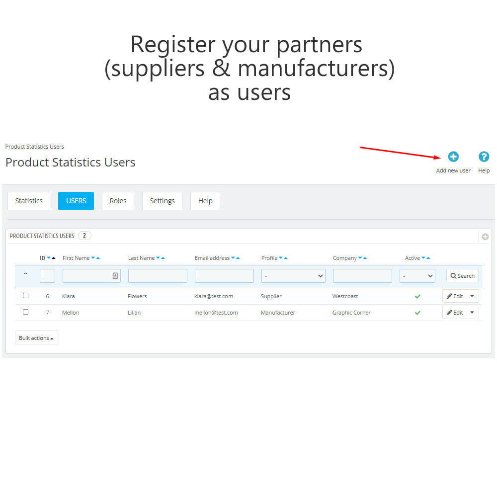 module - Analytics & Statistics - Product Sales Reports, Statistics for Your Partners - 15