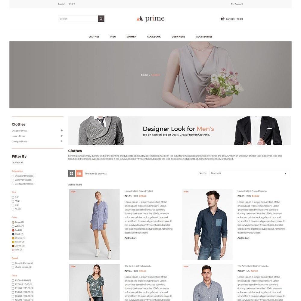 theme - Mode & Chaussures - Prime Fashion  - Women Cloth Designer Store - 4