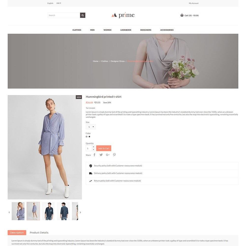 theme - Mode & Chaussures - Prime Fashion  - Women Cloth Designer Store - 6