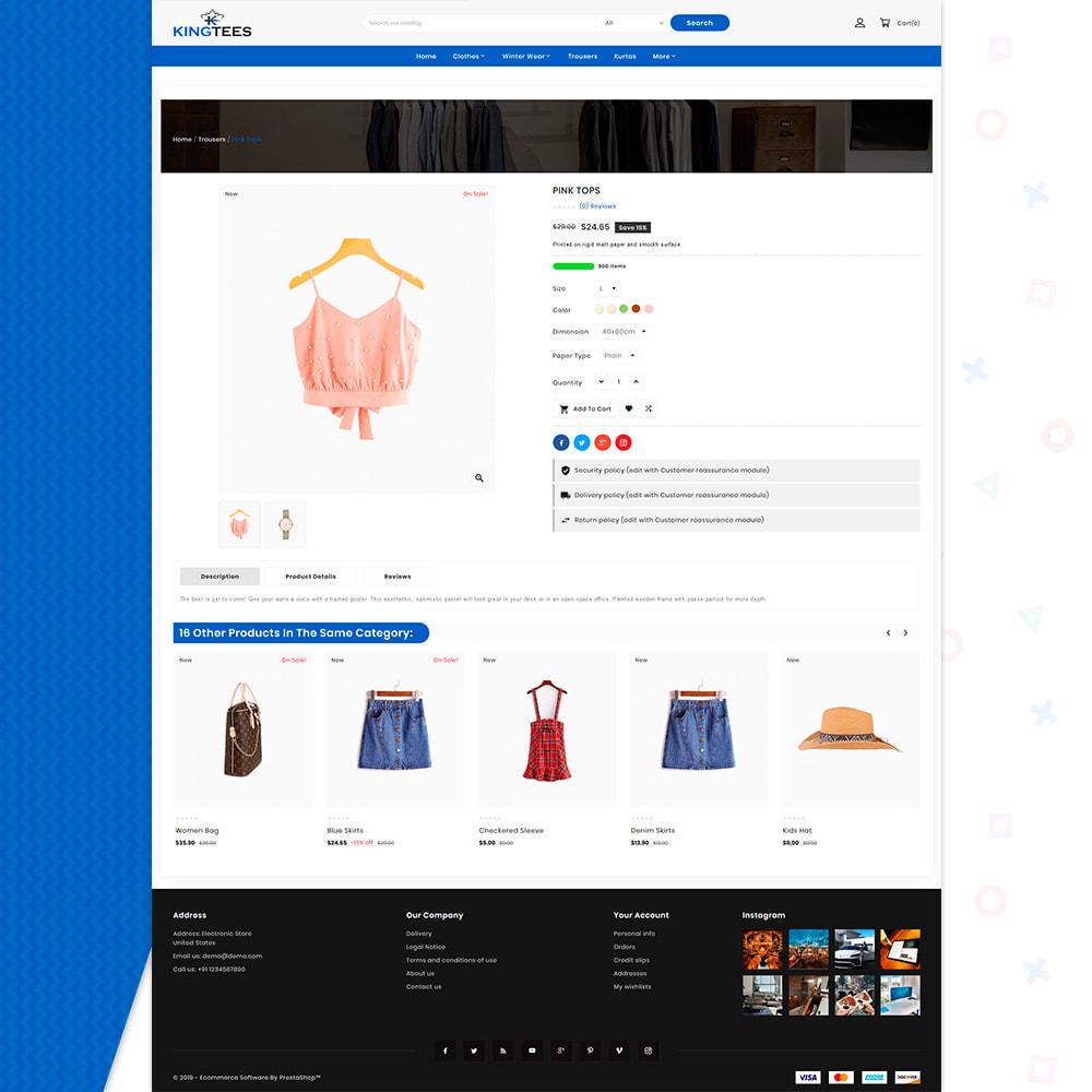 theme - Mode & Chaussures - Kingtees Fashion Shop - 4