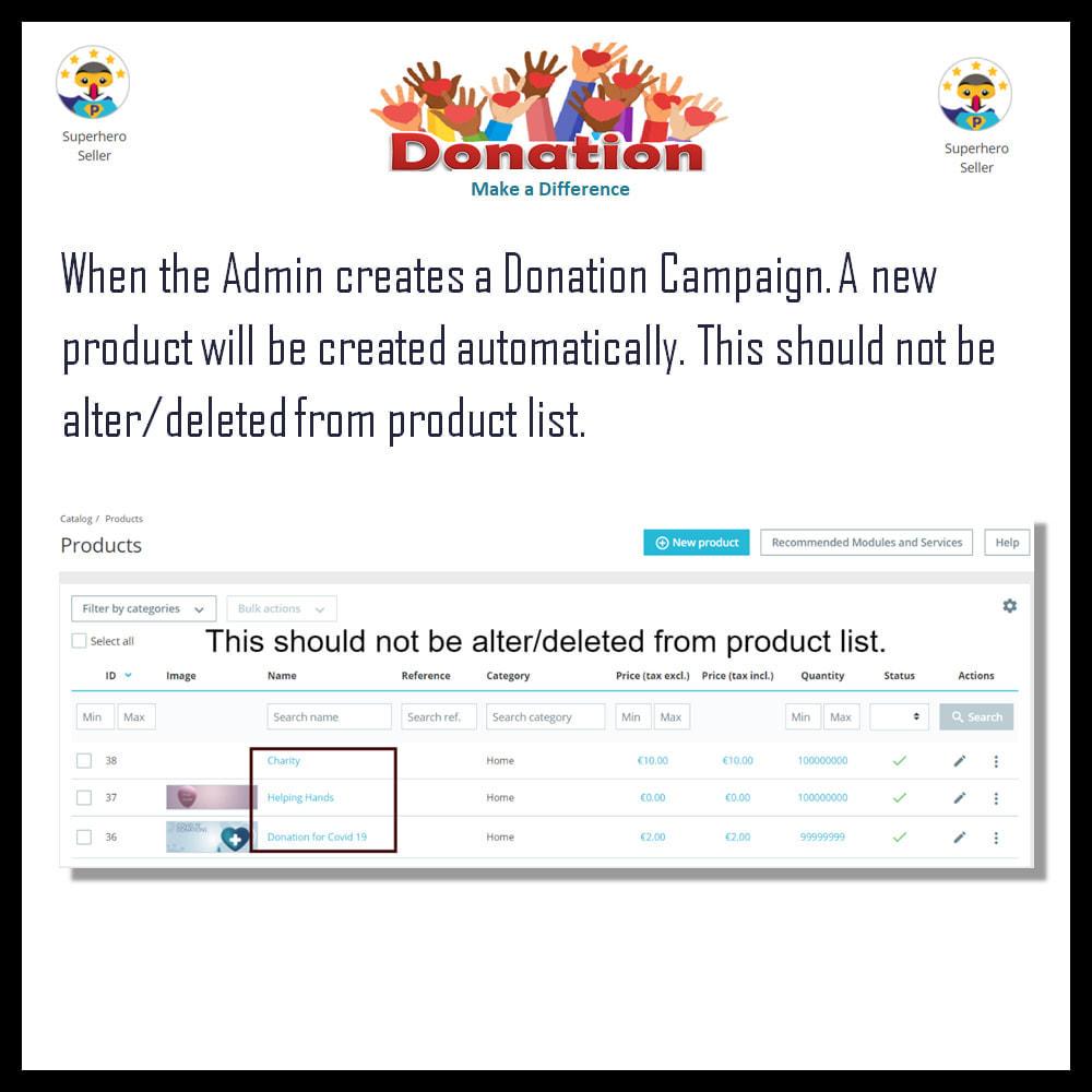 module - Andere betaalmethodes - Donation - 5