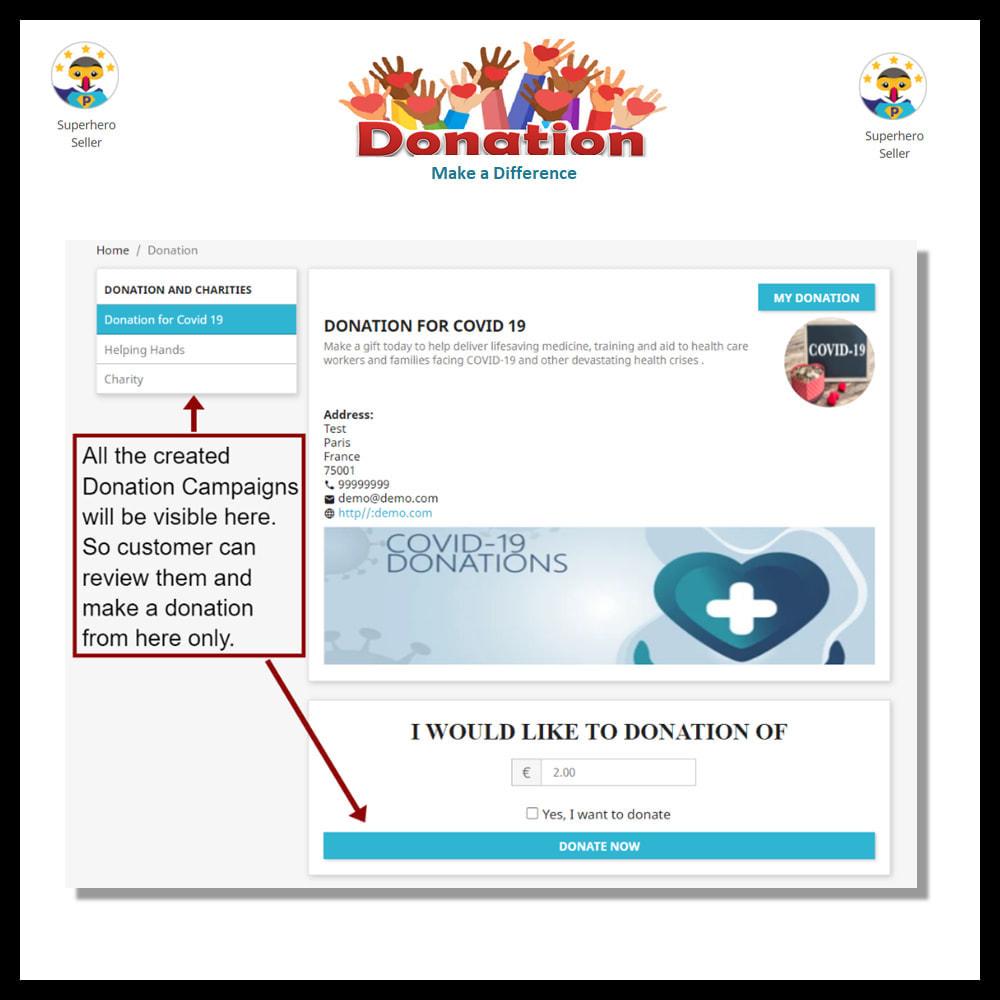 module - Andere betaalmethodes - Donation - 7