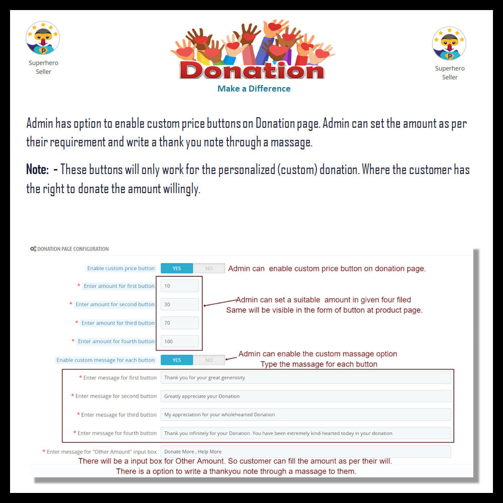 module - Andere betaalmethodes - Donation - 15