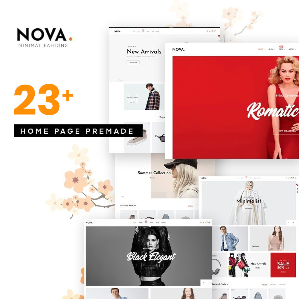 theme - Moda & Obuwie - Nova Fashion Store - 1