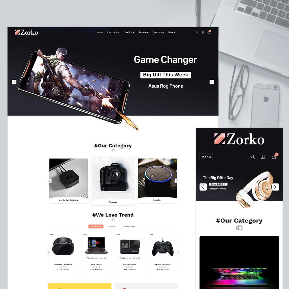theme - Electronique & High Tech - Zorko Electronic Store - 1