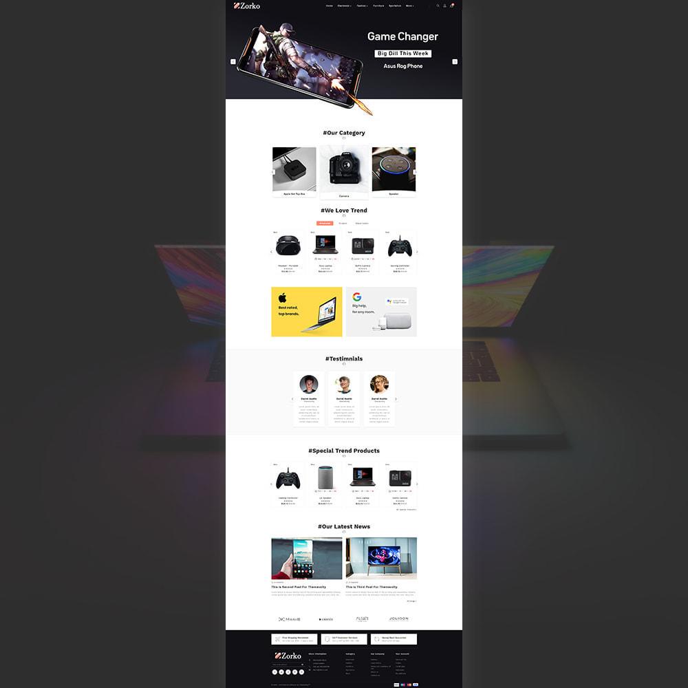 theme - Electronique & High Tech - Zorko Electronic Store - 2
