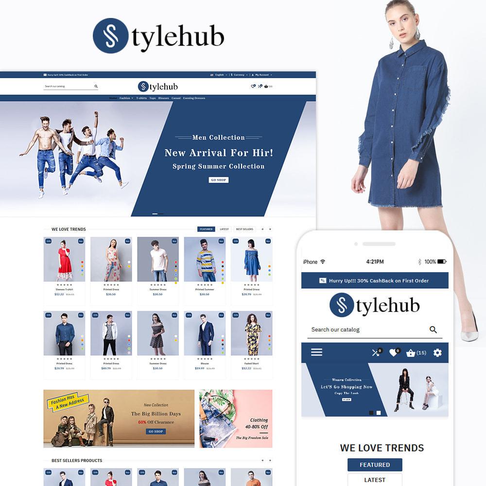 theme - Mode & Chaussures - StyleHub Fashion Mall - 1