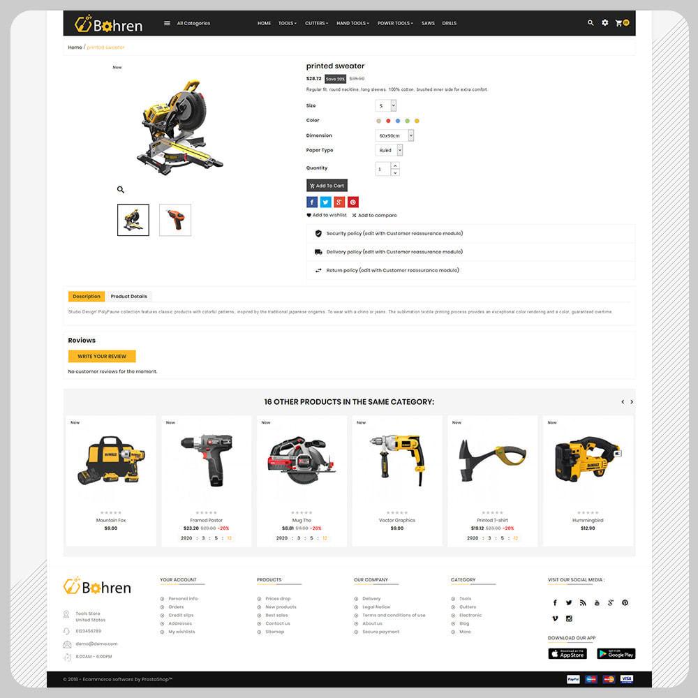 theme - Auto & Moto - Bohren – The Tools Mega Shop - 4