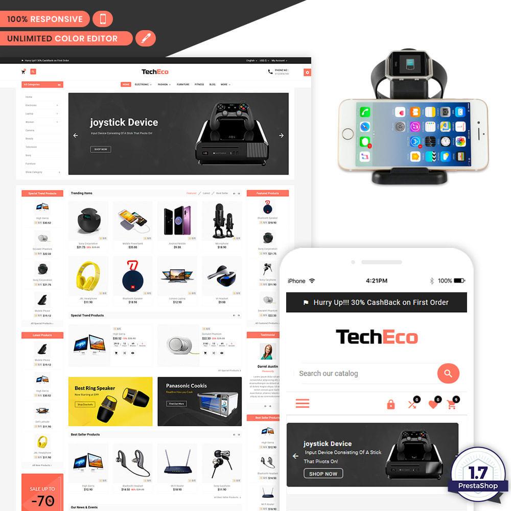 theme - Electronique & High Tech - Tech Eco Electronic Shop - 1