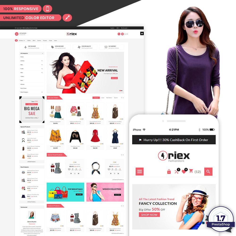 theme - Mode & Chaussures - Oriex Fashion Boom Stylish Stop - 1