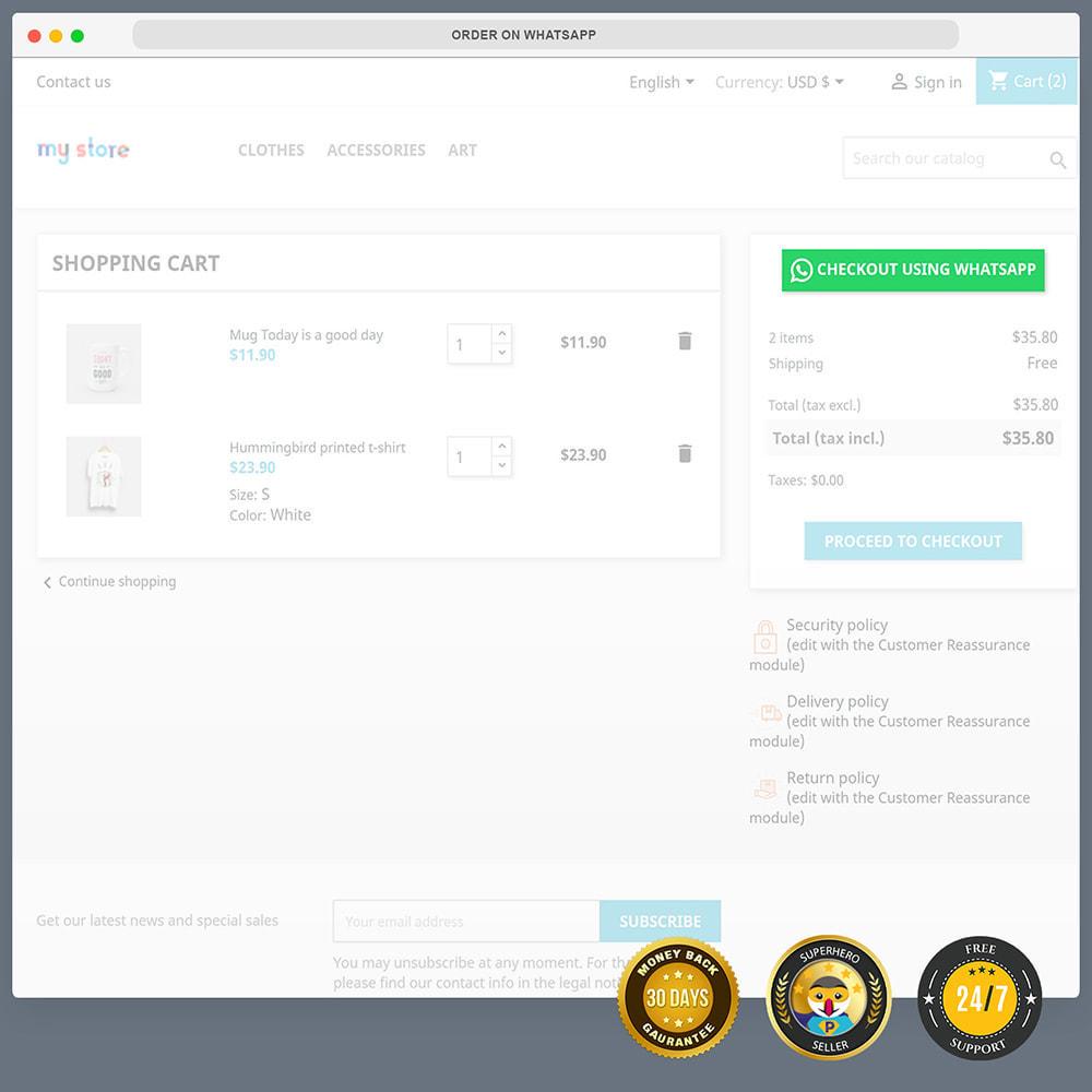 module - Supporto & Chat online - WhatsApp Integration PRO - Ordine, chat, agenti - 6