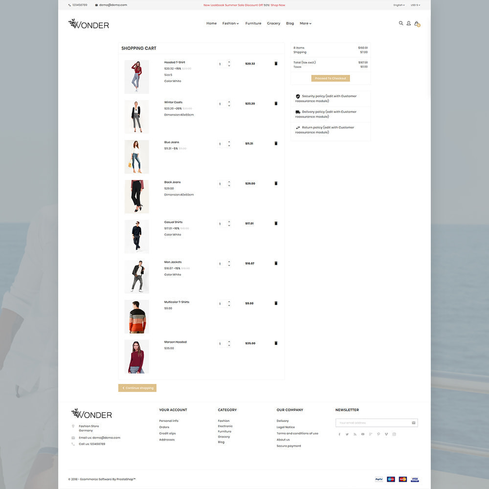 theme - Mode & Chaussures - Onder Stylish Fashion Store - 5