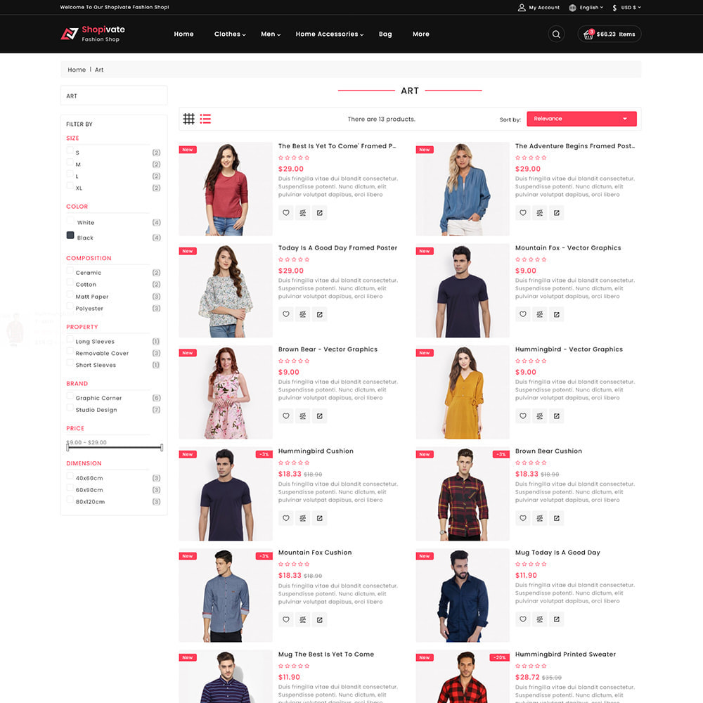 theme - Mode & Schoenen - Shopivate -  The Fashion Shop - 4