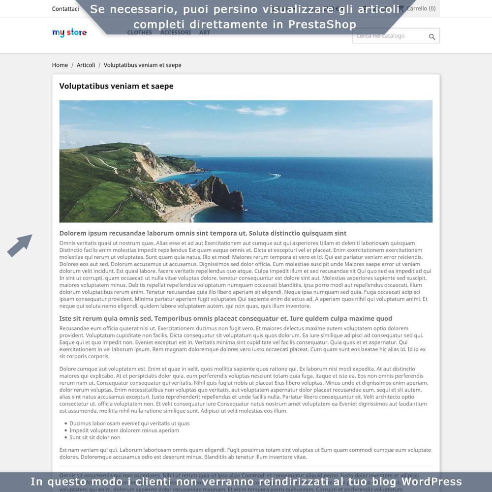 module - Blog, Forum & News - Integrazione bidirezionale PrestaShop e WordPress - 5