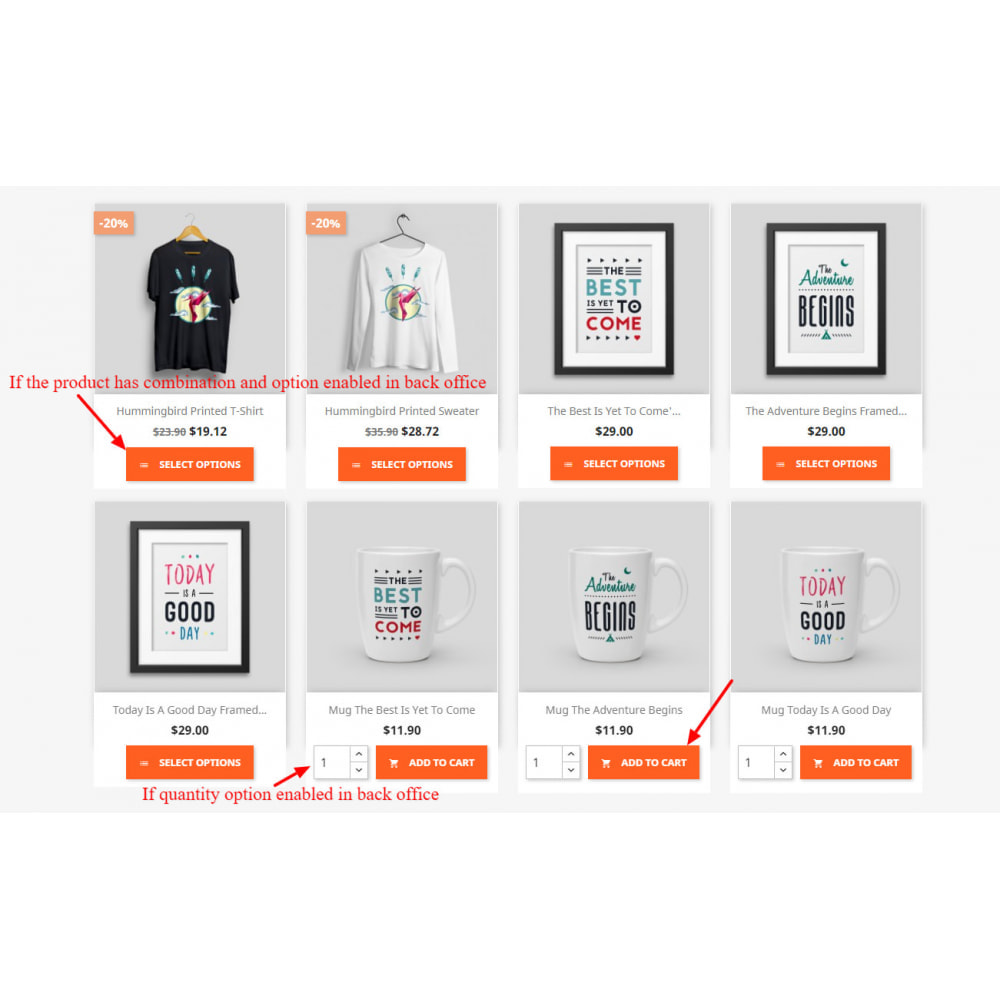 module - Registration & Ordering Process - Display Add To Cart Button In Product List - 1
