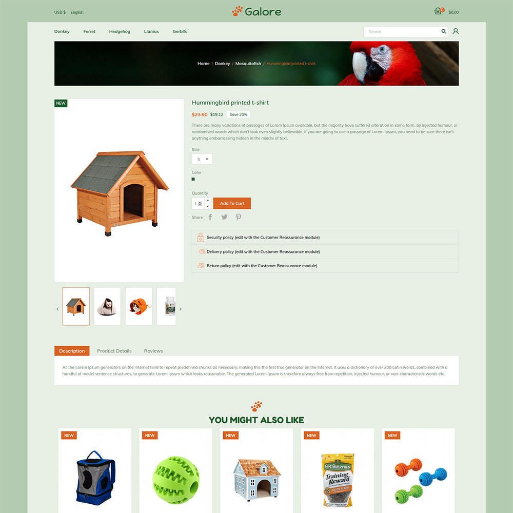 theme - Animaux - Pet - Magasin de fournitures de nourriture pour chats - 6