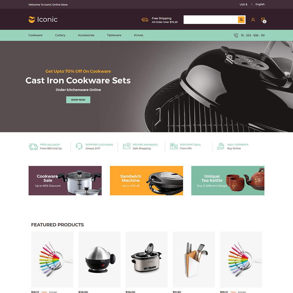 theme - Maison & Jardin - Ustensiles de cuisine - Magasin de couteaux - 3