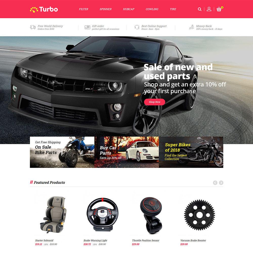 theme - Auto & Moto - Ricambi per motori - Negozio di attrezzi per auto - 3