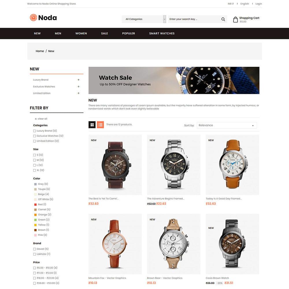 theme - Jewelry & Accessories - Noda Watch Accessories  - Fashion Store - 2