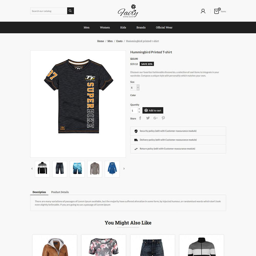 theme - Fashion & Shoes - Fairy Cloth Shirt  - Fashion Accessories Store - 3