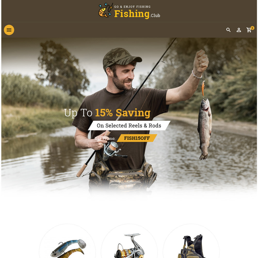 theme - Sport, Aktivitäten & Reise - Fishing club - Equipment Store - 12