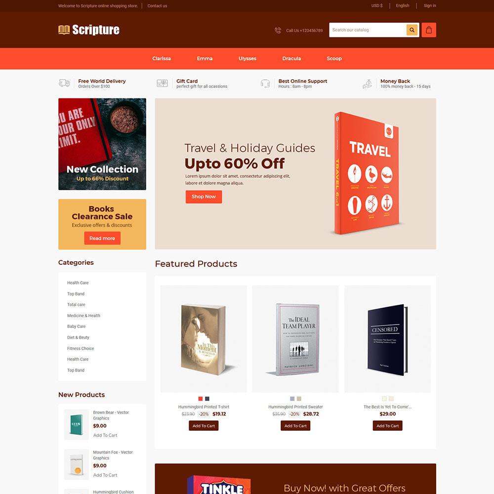 theme - Kunst & Kultur - Scripture Ebook  - Library Magazines Paper  Store - 1