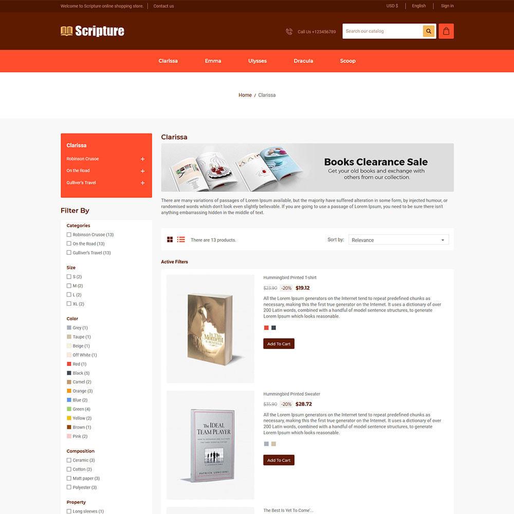 theme - Kunst & Kultur - Scripture Ebook  - Library Magazines Paper  Store - 3