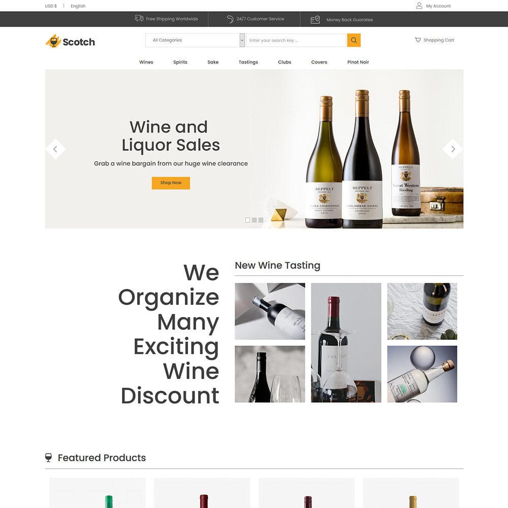 theme - Bebidas y Tabaco - Scotch Wine - Tienda de bebidas alcohólicas - 3