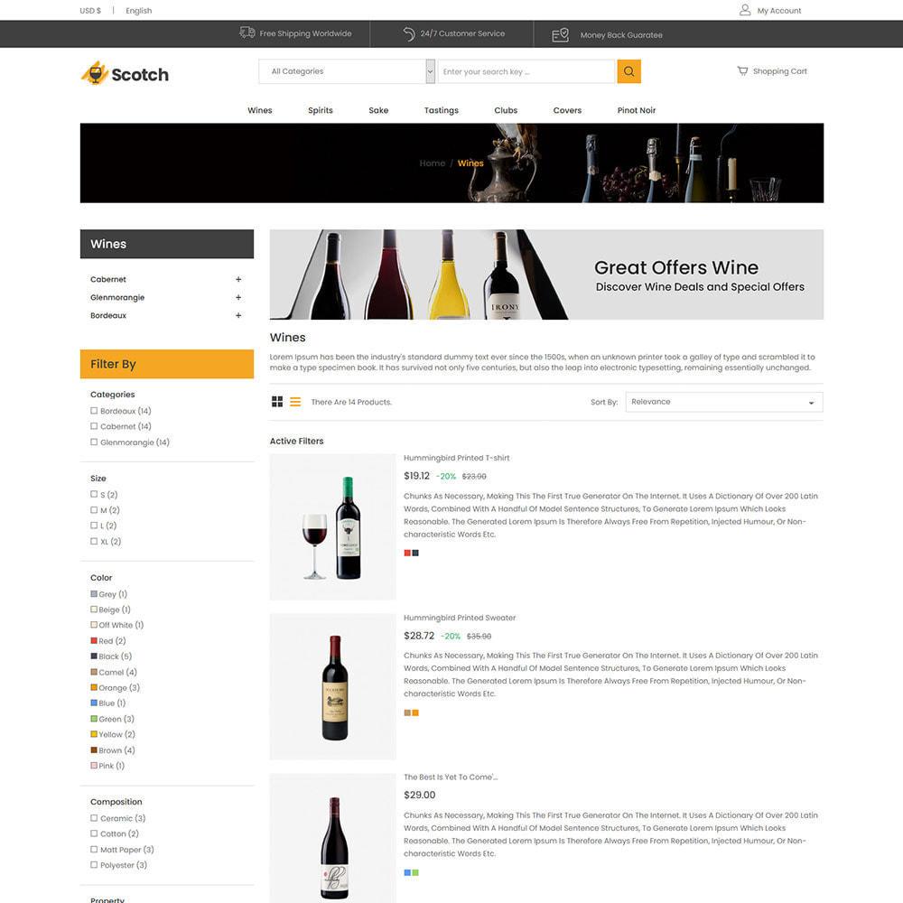 theme - Getränke & Tabak - Scotch Wine - Geschäft für alkoholische Getränke - 5