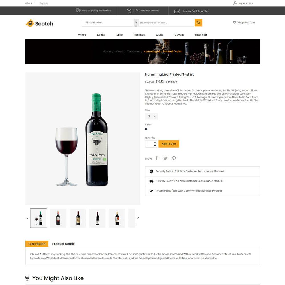 theme - Getränke & Tabak - Scotch Wine - Geschäft für alkoholische Getränke - 6