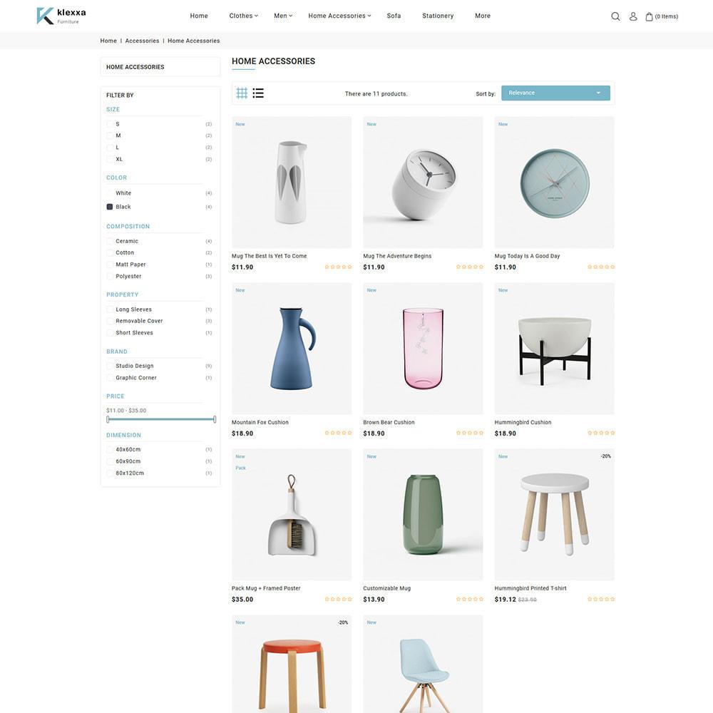 theme - Home & Garden - Klexxa - The Best Furniture Store - 3