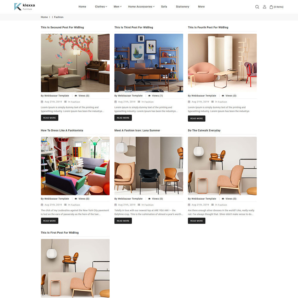 theme - Casa & Giardino - Klexxa - The Best Furniture Store - 6